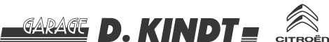 Citroën garage Kindt logo